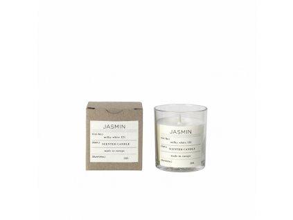 Vonná čajová svíčka Broste Jasmin | bílá
