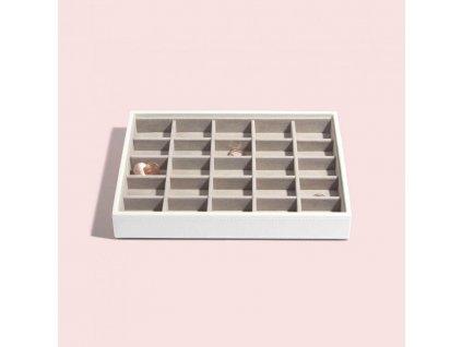 Box na šperky Stackers White Classic 25 | bílá
