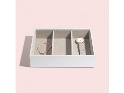 Box na šperky Stackers White Deep Watch/Accessories | bílá