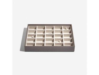 Box na šperky Stackers Mink Classic 25 | kávová
