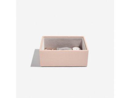 Box na sluneční brýle Stackers Blush Classic Glasses/Accessory | růžová