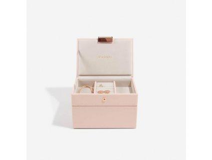Šperkovnice Stackers Blush Mini | růžová