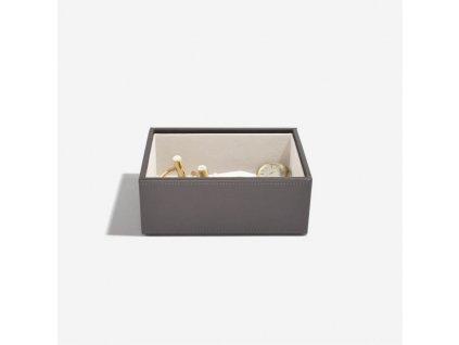 Box na šperky Stackers Mink Mini Open Layer | kávová