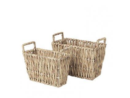 Sada 2 košíků Broste Kamilla Sea Grass | přírodní