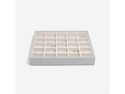 Box na šperky Stackers Pebble Grey Classic 25 | šedá