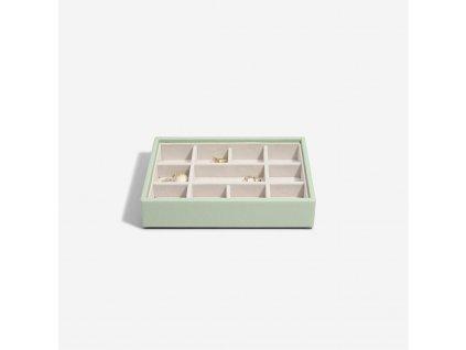 Box na šperky Stackers Sage Green Mini 11   zelená