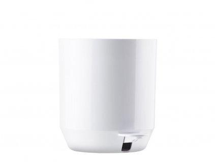 Koupelnový pedálový koš Zone Denmark Suii 24 x 24 cm White 4l | bílá