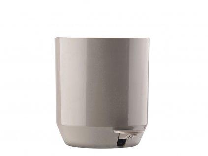 Koupelnový pedálový koš Zone Denmark Suii 24 x 24 cm Taupe 4l | šedobéžová