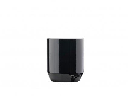 Koupelnový pedálový koš Zone Denmark Suii 24 x 24 cm Black 4l   černá