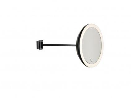 Nástěnné kosmetické zrcadlo s osvětlením Zone Denmark Black | černá