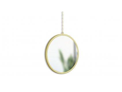 Sada kulatých zrcadel Umbra Dima 3 ks | mosazná