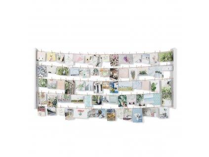 Velký nástěnný držák fotky Umbra Hangit Large | bílá