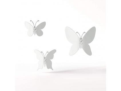 Dekorace na zeď Umbra Mariposa   bílá