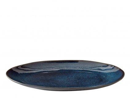 Velký servírovací talíř Bitz 30 cm Black/Dark Blue   modrá