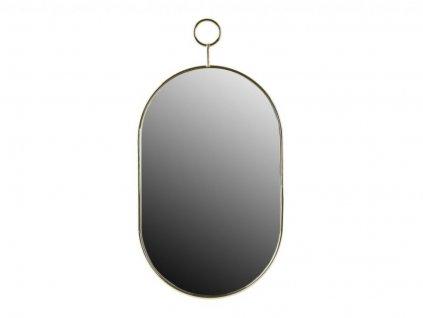 Oválné zrcadlo Villa Collection Gold 25 x 48 cm   Zlatá