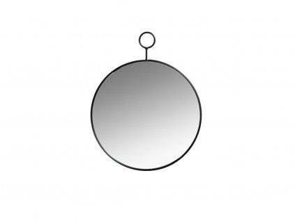 Nástěnné kulaté zrcadlo Villa Collection 40 cm Black | Černá