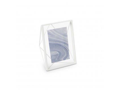Geometrický fotorámeček Umbra Prisma 10 x 15 cm | bílý