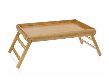 Bambusový podnos do postele Andrea House FOLDABLE BED TRAY | přírodní