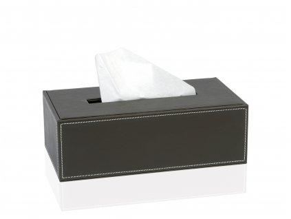 Box na papírové kapesníky Andrea House BA7172 | hnědý