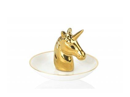 Stojánek na prstýnky Andrea House BA69231 | zlatý