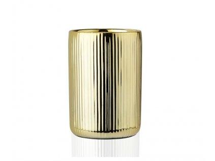 Kelímek do koupelny Andrea House Gold Ceramic BA68093   zlatý