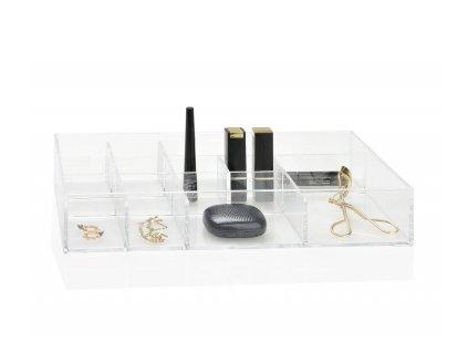 Kosmetický organizér Andrea House BA69083 | průhledná