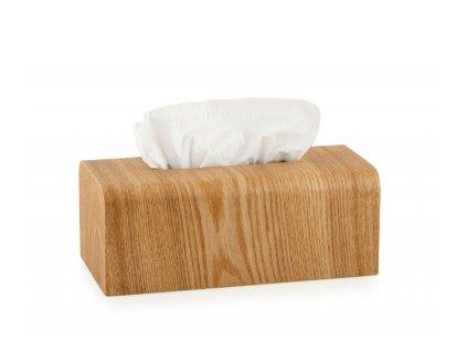 Box na papírové kapesníky Andrea House BA70011   hnědý