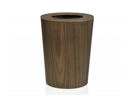 Dřevený odpadkový koš Andrea House PA17049 | hnědý