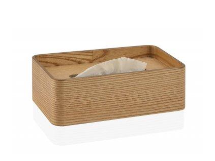 Box na papírové kapesníky Andrea House | hnědý