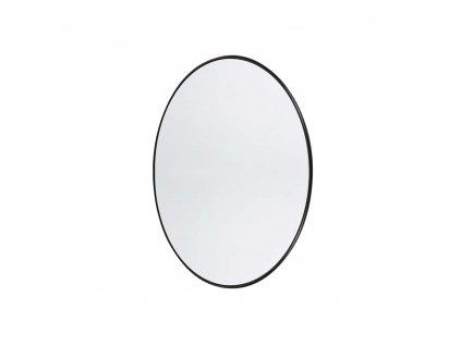 Nástěnné zrcadlo kulaté Muubs Copenhagen S  | černá