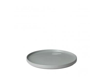 Mělký talíř Blomus PILAR 27 cm | šedá