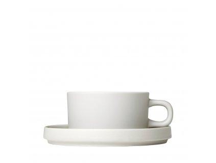 Šálek na čaj Blomus PILAR SET/2ks | béžový
