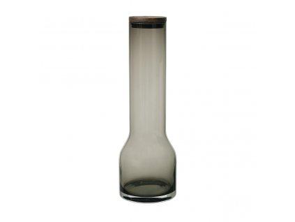 Karafa na vodu Blomus LUNGO 1100 ml | kouřová šedá