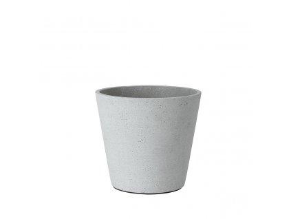 Květináč Blomus COLUNA 16,5 cm | světle šedý
