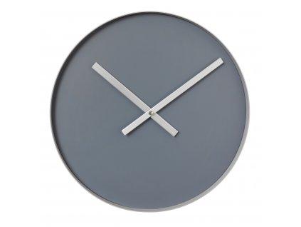 Nástěnné hodiny Blomus RIM | velké šedé