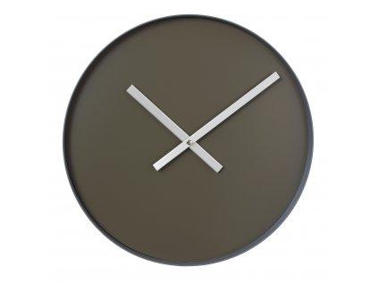 Nástěnné hodiny Blomus RIM | velké khaki