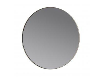 Kulaté závěsné zrcadlo Blomus RIM 80 cm | šedá;hnědá