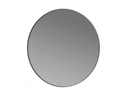 Kulaté závěsné zrcadlo Blomus RIM 80 cm | šedé