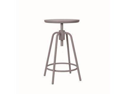Otočná stolička Blomus AROUND   šedá;hnědá