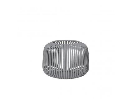 Lucerna Blomus LITO 13 cm   ocelově šedá