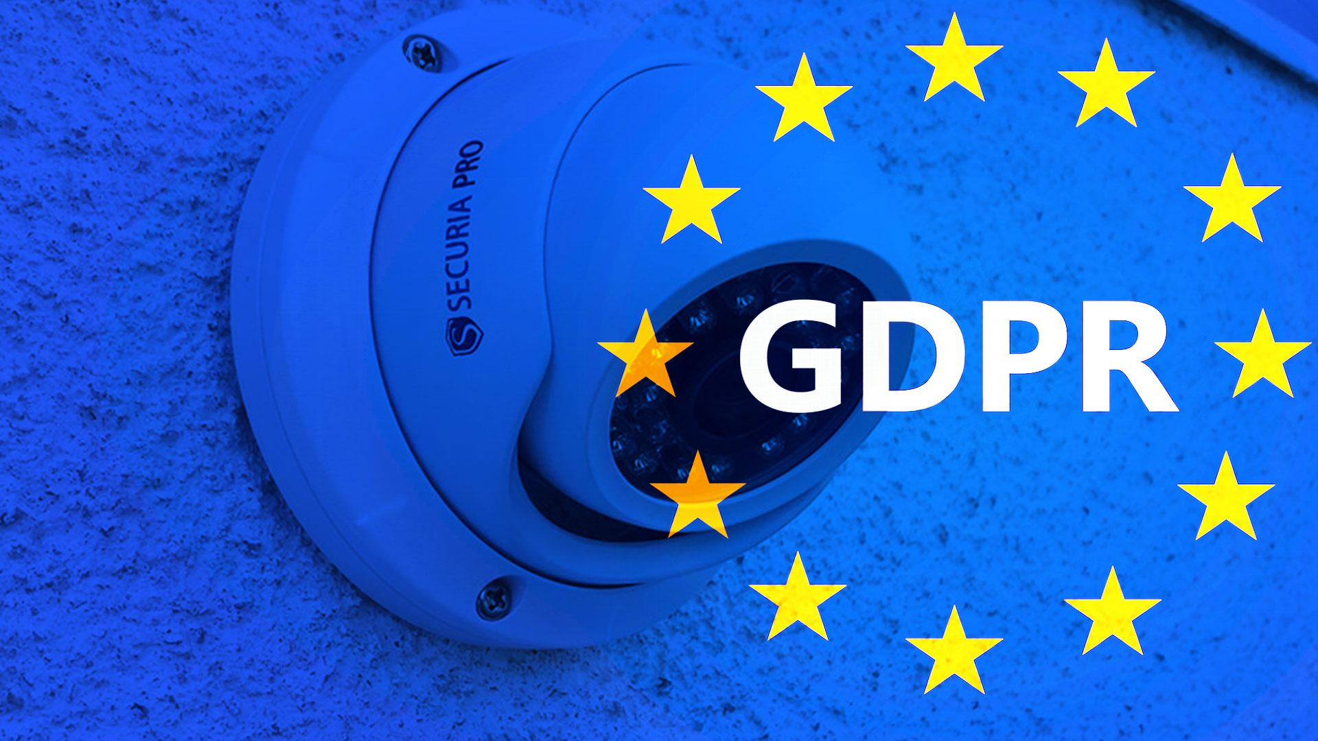 GDPR a kamerové systémy