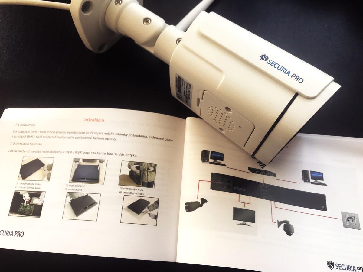 Jak nainstalovat Bezpečnostní kamerový systém na dům