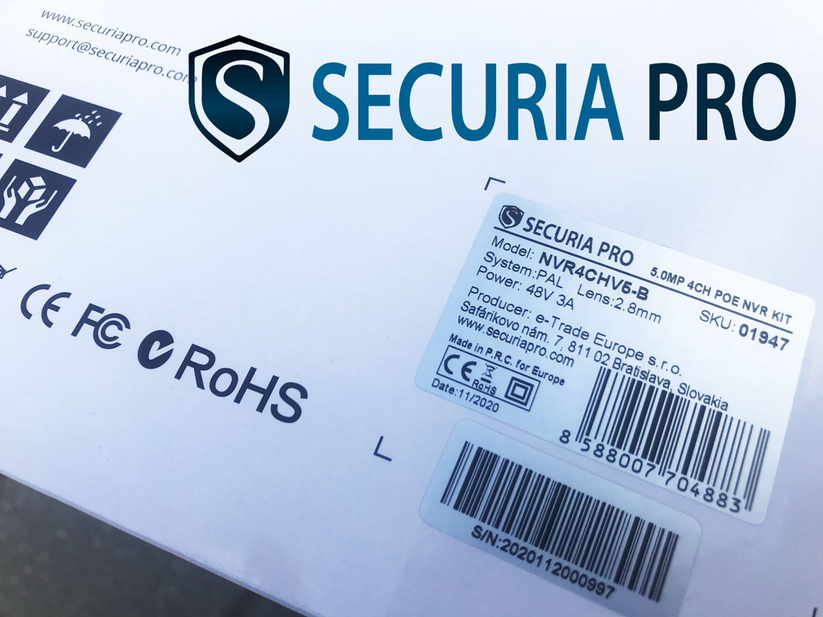Securia Pro - Slovenská značka, kamerové systémy