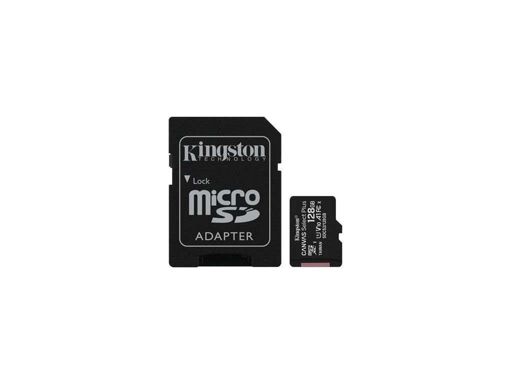 pametova karta kingston canvas select plus a1 128gb microsdxc class 10 100mb s s adapterem i180882[1]