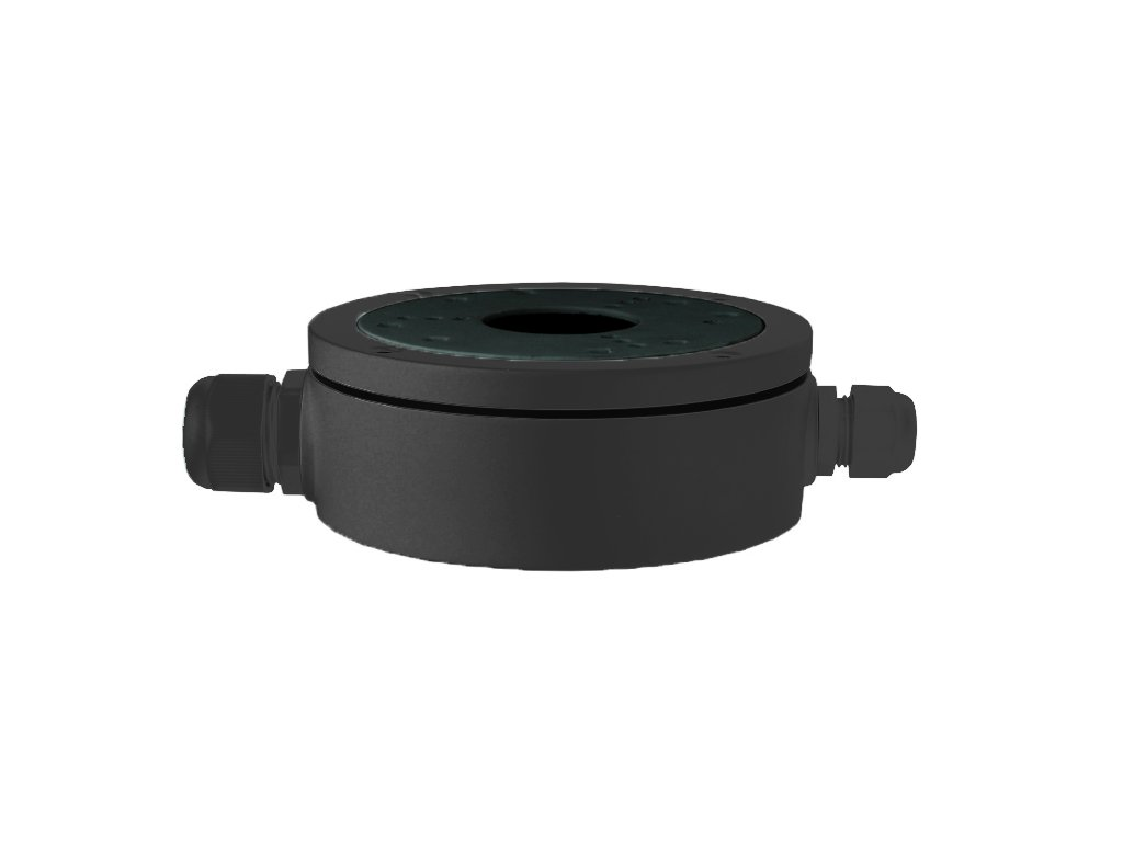 22907 securia pro junction box small black jbsb 01