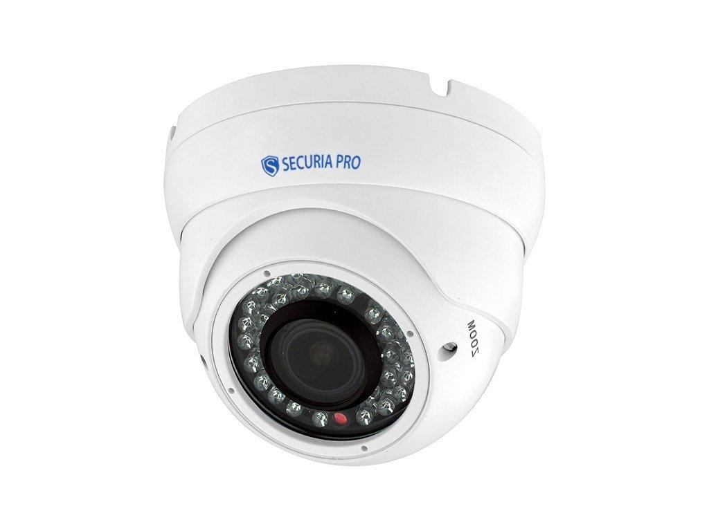 885 securia pro ip kamera 3mp poe 2 8 12mm dome n369sz 300w w