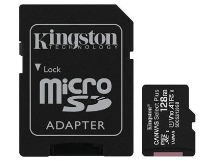 pametova karta kingston canvas select plus a1 128gb microsdxc class 10 100mb s s adapterem i180882[1]