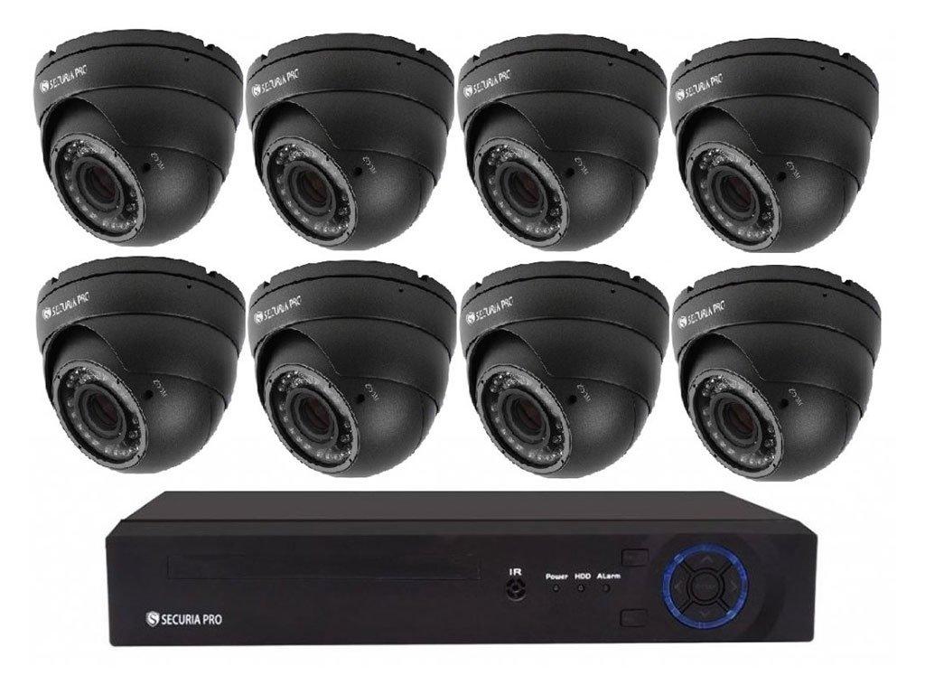 SecuriaPro Dome kamerovy set