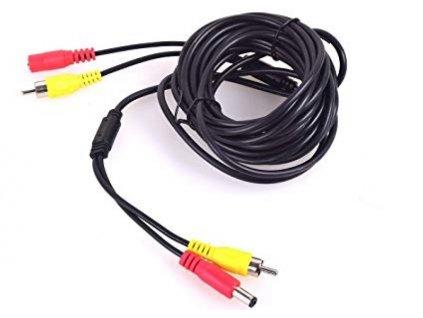 43898 securia pro rca dc kabel 20m