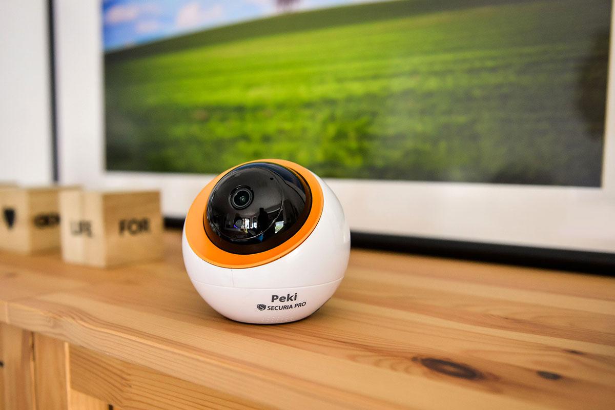 4 tipy na umiestnenie vnútornej bezpečnostnej kamery pre váš domov